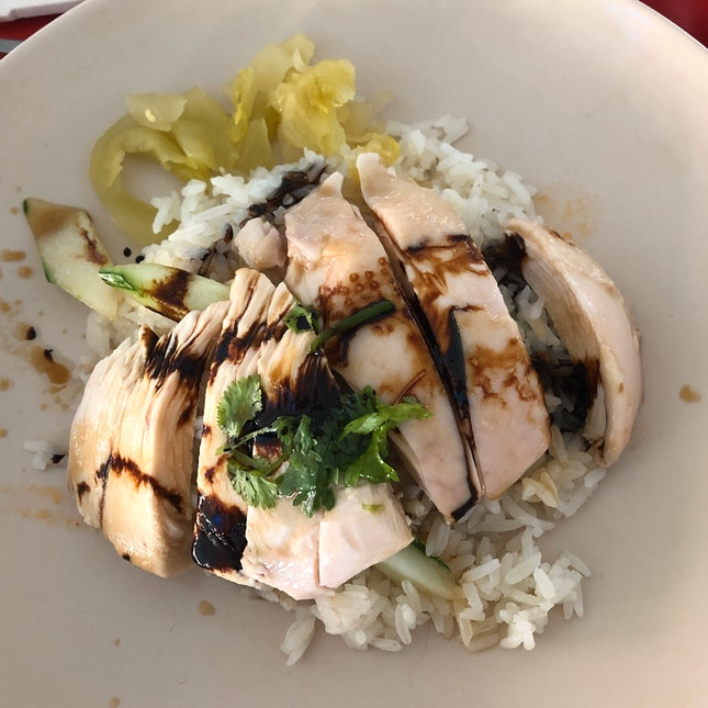 Affordable And Decent Chicken Rice