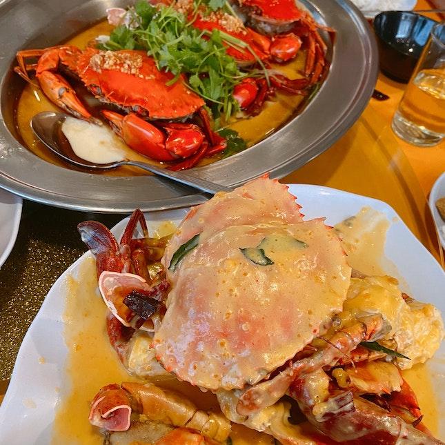 Salted Egg & Soy Sauce + Egg Crab