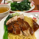 Duck & Roast Pork Combo Noodles