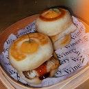 Pork Belly And Eel Bao ($16)