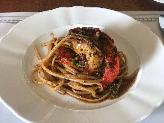 Atlantis lobster Linguini