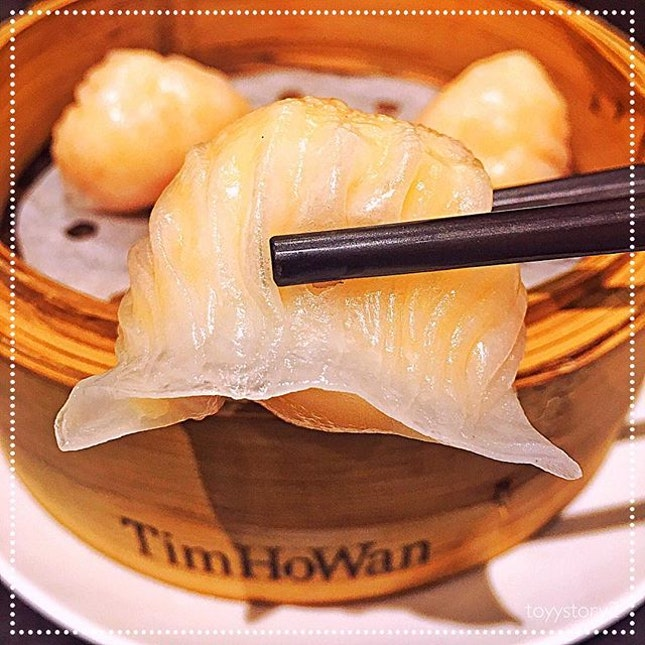 [Tim Ho Wan] Har Gow (Crystal Skin Shrimp Dumpling), HK$23 / S$3.97.