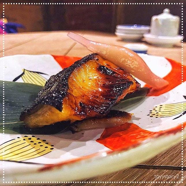 [Ishinomaki Grill and Sake] Gindara Saikyo Yaki, S$28.