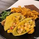 Crispy Fish Fillet Taco ($23)