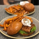 Unagi Burger ($22.0) from @theninjacut 's hawaiian inspired menu which is available for a limited time only.