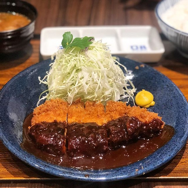 Ordered the Miso Katsu Set ($23.80) and it was a mix of hits and misses.