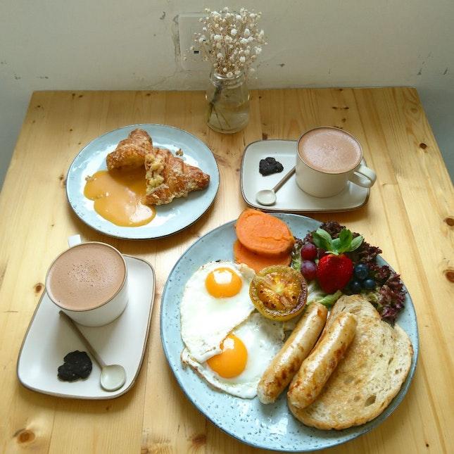Best Mocha & Salted Egg Croissant