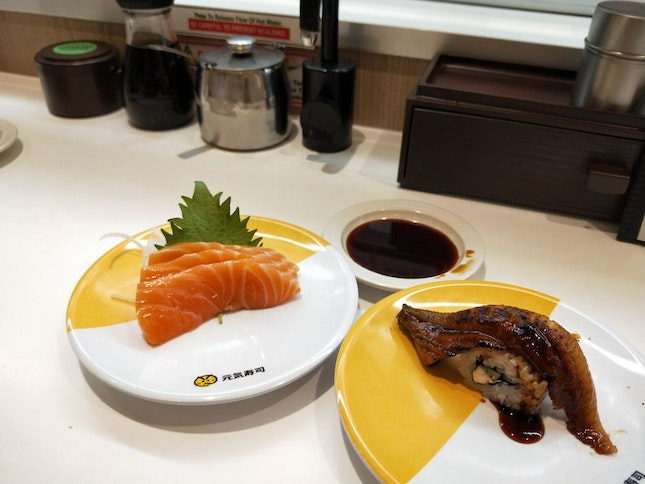 The Sushi with the Train