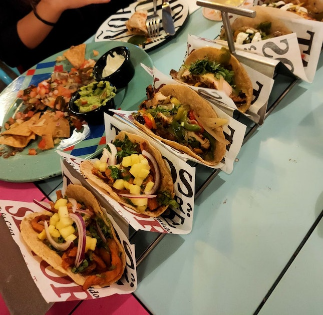 Oh, these mile long Tacos