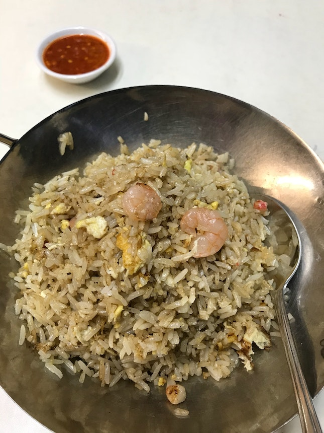 Delicious Yang Chow fried rice