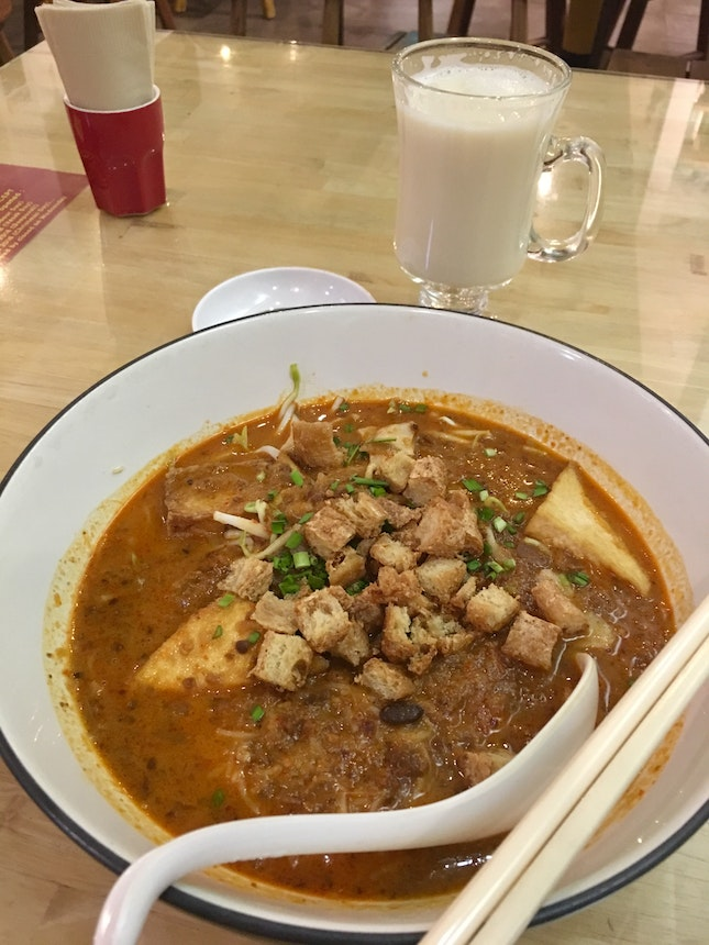The Mee Siam Is Awesome!
