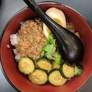 Lu Rou Fan (Braised Pork Belly Rice)