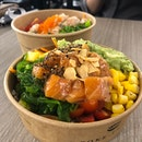 Salmon Shoyu Bowl at A Poke Theory