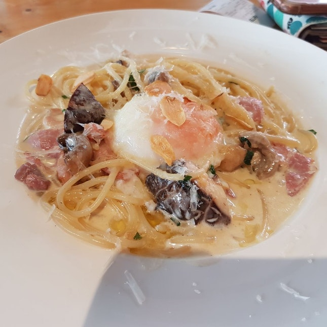 Truffle Carbonara Spaghetti