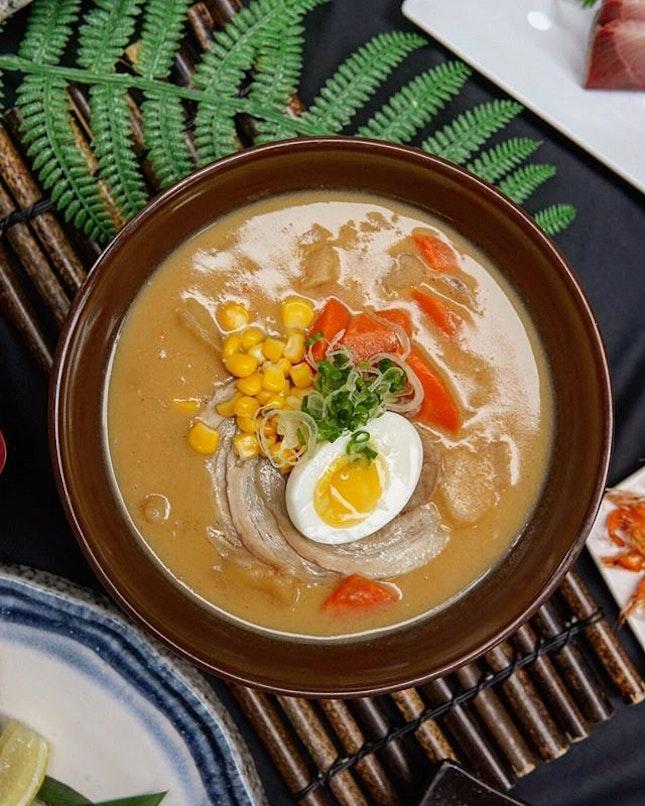White Curry Ramen