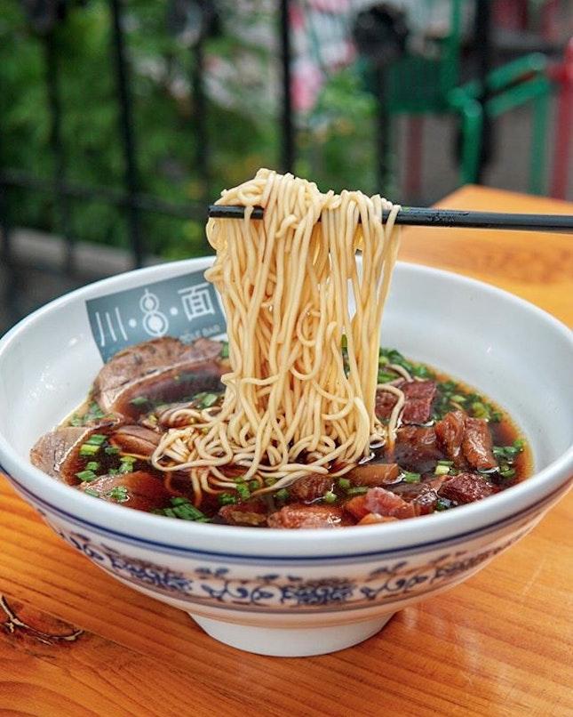 Signature Beef Combination Noodle ($16.50)