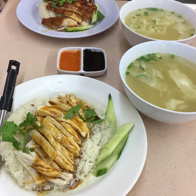 Chicken Rice $3.50