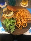 Wagyu Beef Burger with Foie Gras