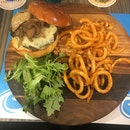 Wagyu Beef Burger with Foie Gras