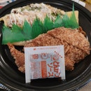 Pork Katsu With Omelette Noodle