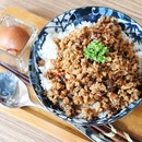 """Heard a lot of good reviews of this """"lu rou fan"""" and finally i tried it out!"""