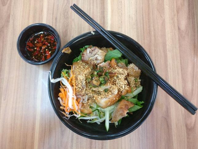 Grilled Chicken w/ Bee Hoon