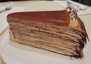 we had the salted caramel crepe cake & it was soo good!!
