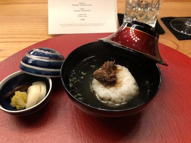 Ochazuke Rice Soup With Hiroshima Oyster