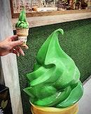 When matcha meets another @ Lots Matcha Ice Cream (Paradigm Mall)  #foodphotography #justeatlostaycation #matcha #malaysia #burpple #8dayseat #johorbahru #paradigmmalljb