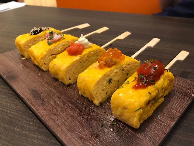 5-kind Japanese Omelette Skewer ($8.80)