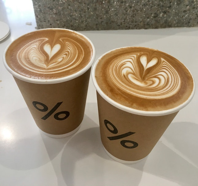 Caffe Latte ($8)
