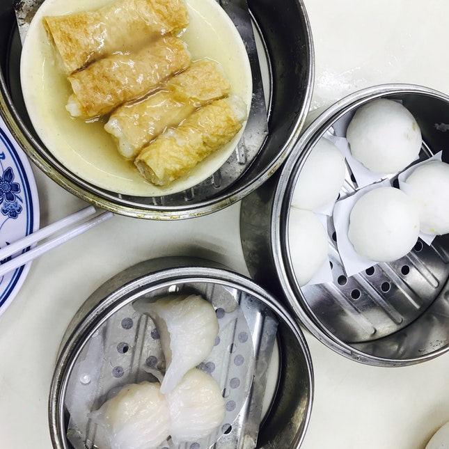 Custard Bao/ Har Gao/Beancurd Prawn