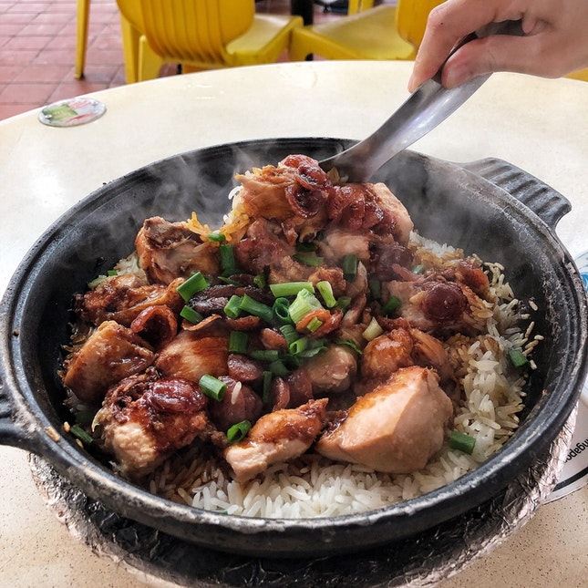 Claypot Rice with Chicken