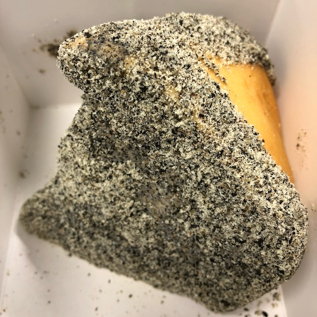 👉Black Sesame Cheese Bun👈