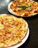 👉Garlic Snowing Pizza && Mad TomYum Pizza 👈