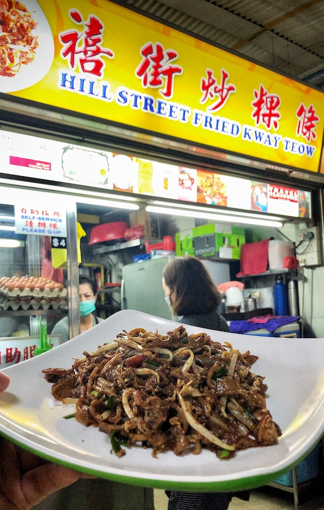 One Of The Most Famous Char Kway Teow In 🇸🇬