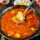 Kimchi Stew With Tuna
