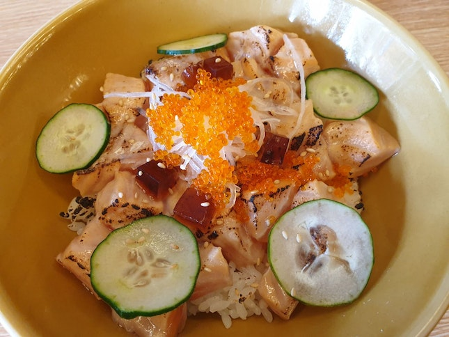 Aburi Salmon Bowl