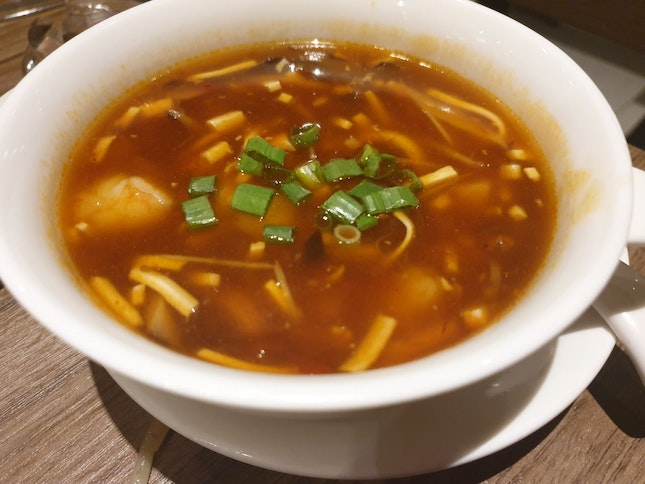 Hot And Sour Soup @ $7.80++