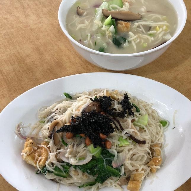 Comforting Putien Lor Mee And Tasty Fried Mee Sua