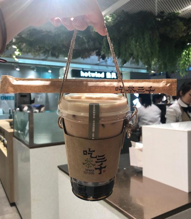 Bubble Milk Tea ($4.50)