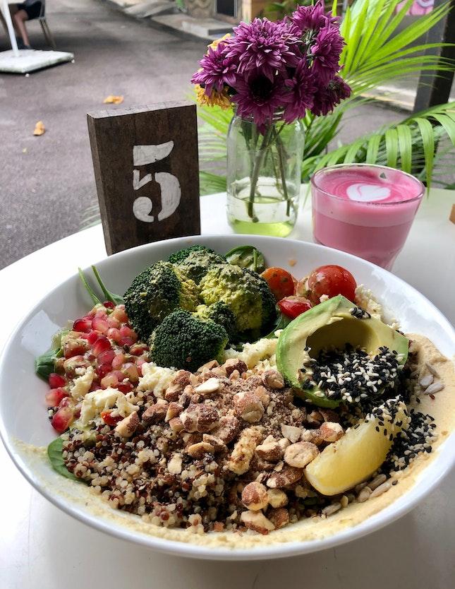 Superfood Salad ($22) With Add On Feta ($4)