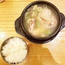 😋😋😋 Jo-ah Half Chicken Ginseng Soup($12.70)!