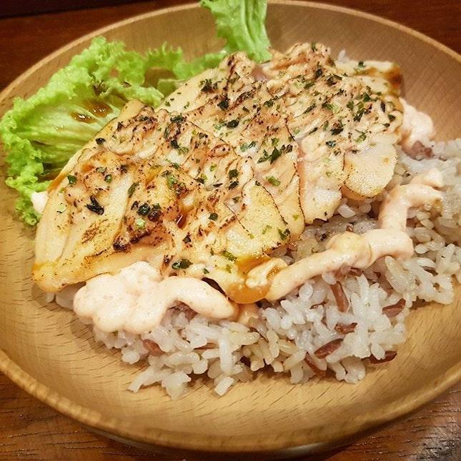 😋😋😋 Salmon Samurai Salmon Mentaiko Bowl ($9.90)!