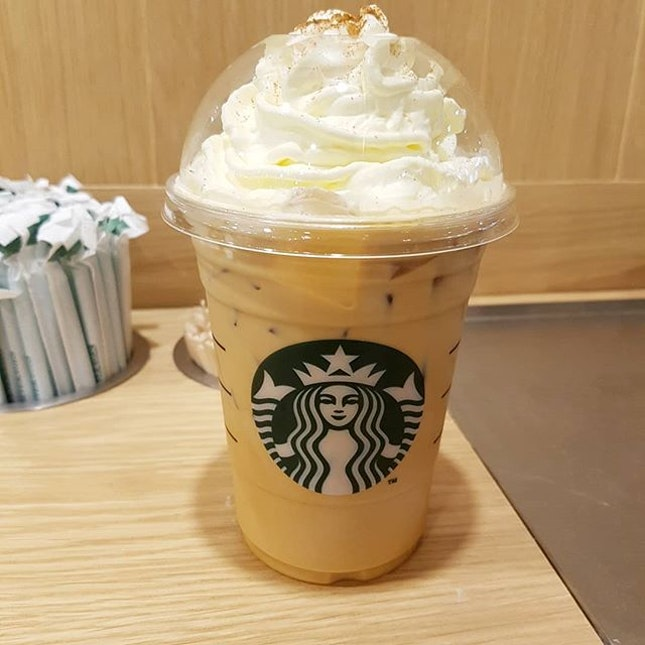 Starbucks Pumpkin Spice Latte - Grande ($7.80).