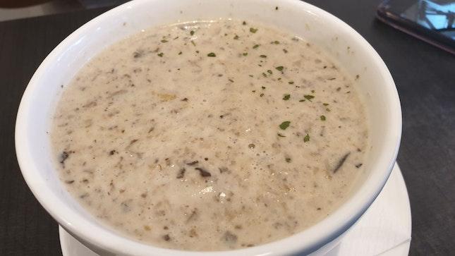 Mushroom Soup $7