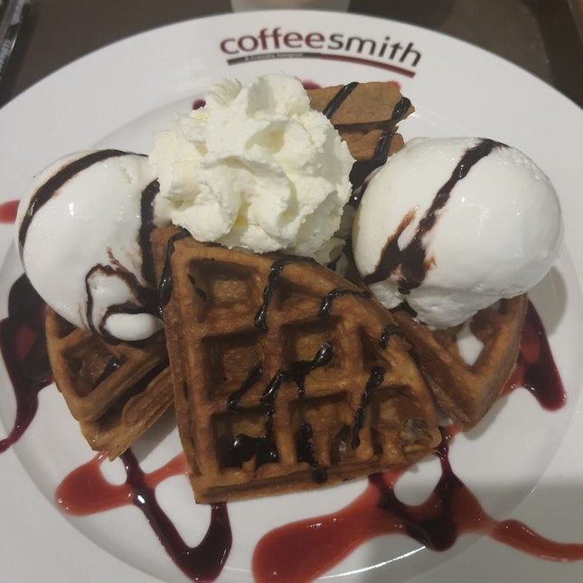 Cappuccino Waffle $16++