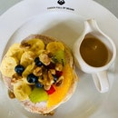 Banana Walnut Pancakes - $14++