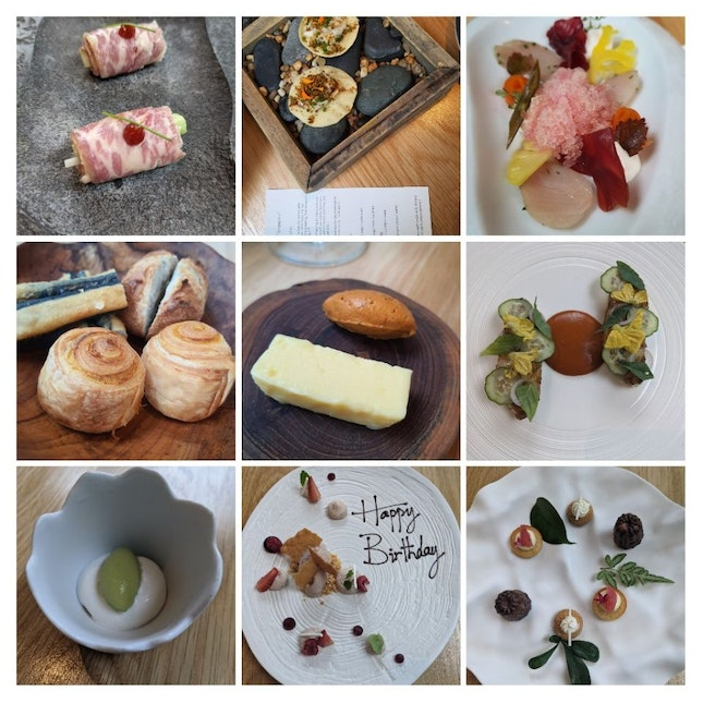 3 Course Lunch Set - $78++