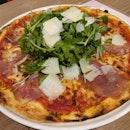 Parma Ham Pizza $25/ 3*
